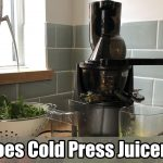 How Does Cold Press Juicer Work
