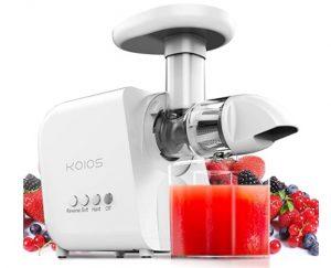 Best Cold Press Juicer 2021- KOIOS Juicer