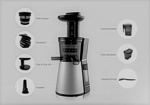 How to clean cold press juicer