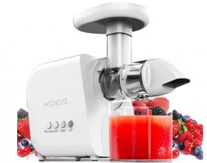 KOIOS Masticating Juicer Machine